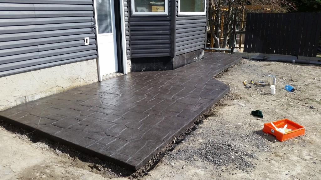 Stamped Concrete Patio Calgary