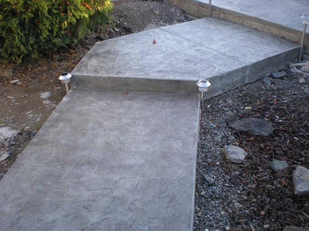 how to raise concrete sidewalk