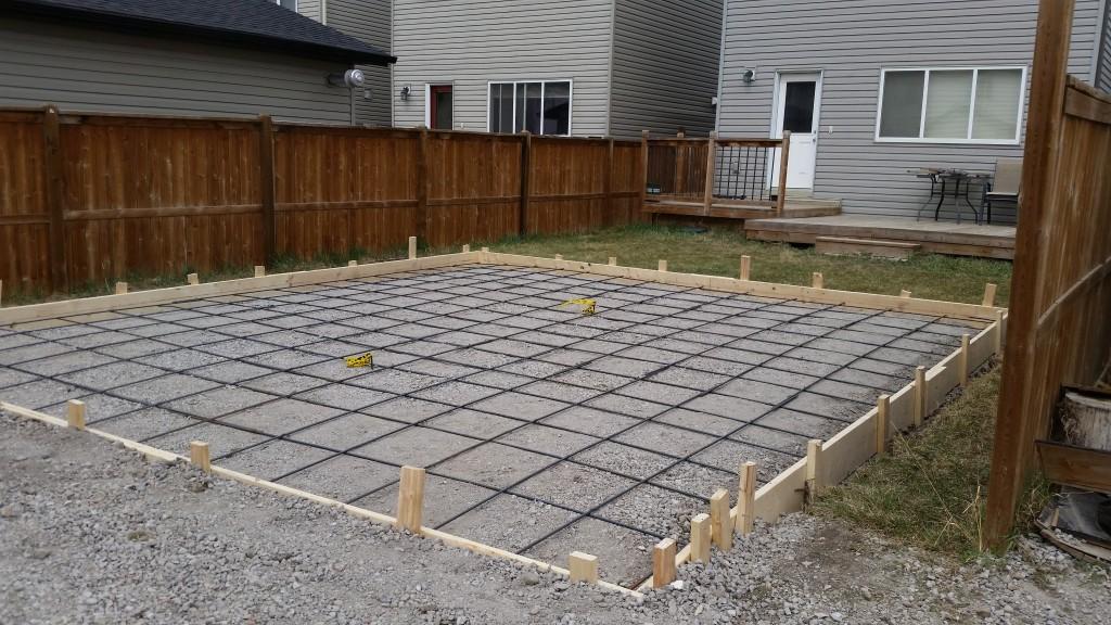 Goodstone calgary 39 s concrete contractors for Foundation for garage