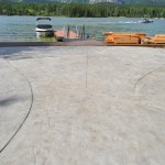Stamped Finish Concrete Patio