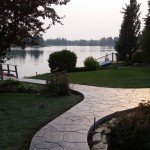 Stamped Concrete Pathway Calgary