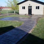 Stamped Concrete Patio Calgary