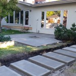 Custom Concrete Patio And Walkway Calgary