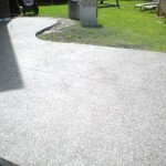 Black Integral Color Exposed Finish Patio Calgary