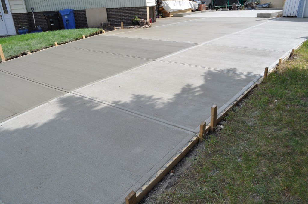 Cut and Broom Concrete Calgary
