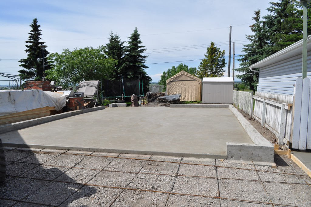 Concrete Garage Construction Calgary