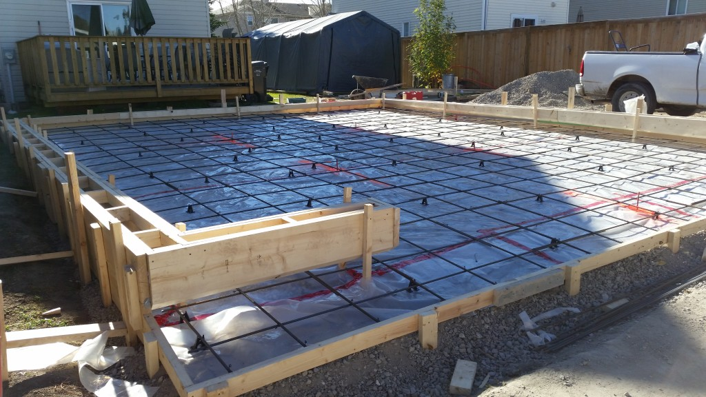 Goodstone calgary 39 s concrete contractors for Slab on grade ontario