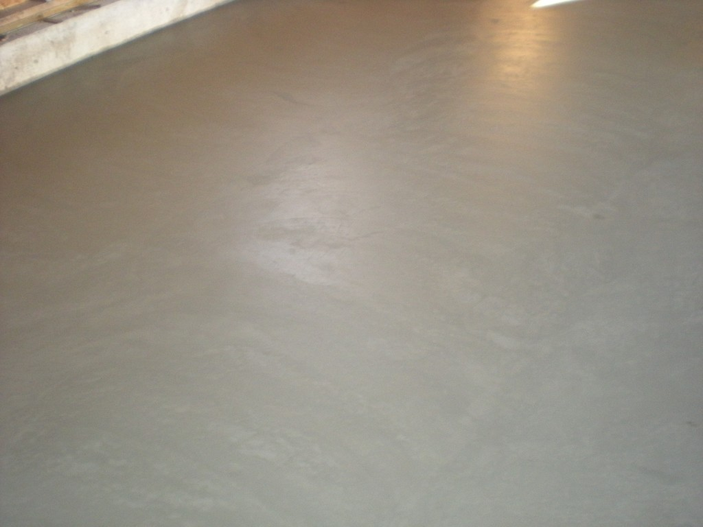 Smooth Concrete Slab Calgary